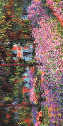 "Дизайн ""Claude Monet Giverny"""