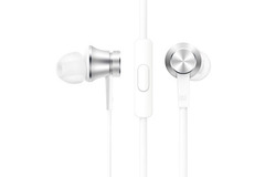 Гарнитура Xiaomi Mi Piston Basic Edition Silver (серебряная)