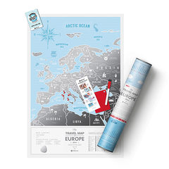 Карта Travel Map Silver Europe