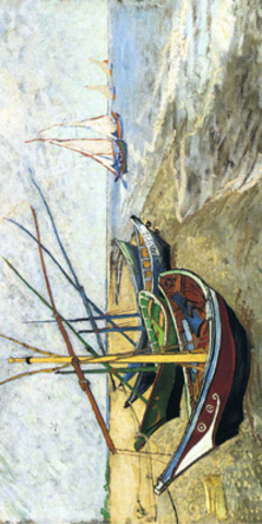 "Дизайн ""Fishing Boats On The Beach"""