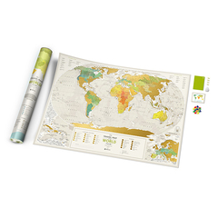Карта Travel Map Geograghy World
